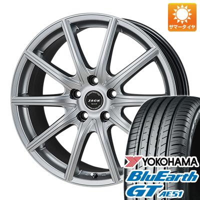 【送料無料】 205/55R17 17インチ MONZA モンツァ ZACK シュポルト01 7J 7.00-17 YOKOHAMA ヨコハマ ブルーアース GT AE51 サマータイヤ ホイール4本セット