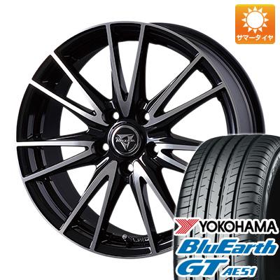 【送料無料】 225/45R18 18インチ INTER MILANO インターミラノ レイジー NX-7 7J 7.00-18 YOKOHAMA ヨコハマ ブルーアース GT AE51 サマータイヤ ホイール4本セット