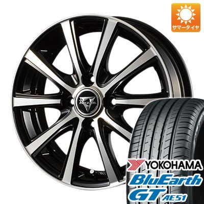 今がお得! 送料無料 185/55R15 15インチ サマータイヤ ホイール4本セット INTER MILANO インターミラノ レイジー XV 5.5J 5.50-15 YOKOHAMA ブルーアース GT AE51