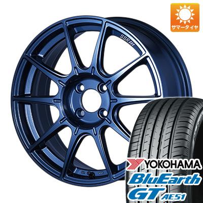 今がお得! 送料無料 205/45R17 17インチ サマータイヤ ホイール4本セット SSR GTX01 LIMITED EDITION 7J 7.00-17 YOKOHAMA ブルーアース GT AE51