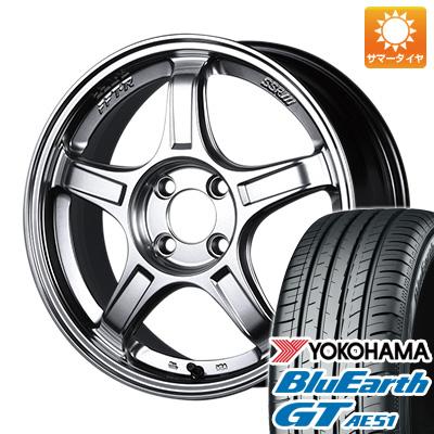 今がお得! 送料無料 215/55R17 17インチ サマータイヤ ホイール4本セット SSR GTX03 7J 7.00-17 YOKOHAMA ブルーアース GT AE51