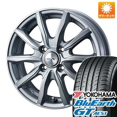 今がお得! 送料無料 185/55R16 16インチ サマータイヤ ホイール4本セット WEDS ウェッズ ジョーカー シェイク 6J 6.00-16 YOKOHAMA ブルーアース GT AE51