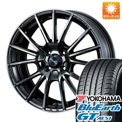 今がお得! 送料無料 165/55R15 15インチ サマータイヤ ホイール4本セット WEDS ウェッズスポーツ SA-35R 5J 5.00-15 YOKOHAMA ブルーアース GT AE51
