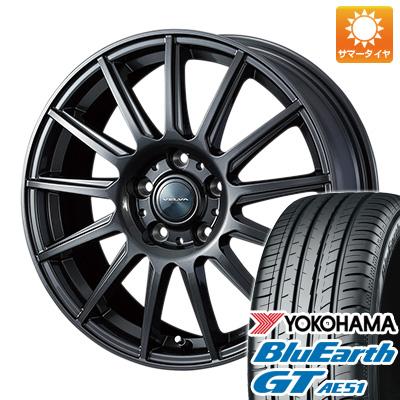 今がお得! 送料無料 235/50R18 18インチ サマータイヤ ホイール4本セット WEDS ウェッズ ヴェルバ イゴール 8J 8.00-18 YOKOHAMA ブルーアース GT AE51