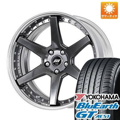 今がお得! 送料無料 225/40R19 19インチ サマータイヤ ホイール4本セット WORK ワーク バックレーベルジースト BST-1 7.5J 7.50-19 YOKOHAMA ブルーアース GT AE51