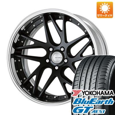 今がお得! 送料無料 245/35R19 19インチ サマータイヤ ホイール4本セット WORK ワーク グノーシス CVX 8.5J 8.50-19 YOKOHAMA ブルーアース GT AE51