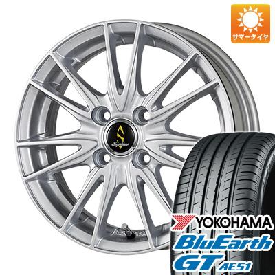 今がお得! 送料無料 195/50R16 16インチ サマータイヤ ホイール4本セット WORK ワーク セプティモ G02 シルバーメタリック 6J 6.00-16 YOKOHAMA ブルーアース GT AE51