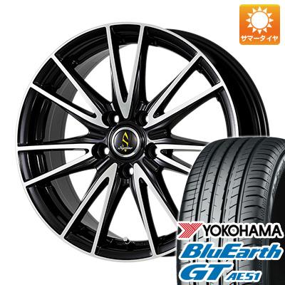 【送料無料】 205/60R16 16インチ WORK ワーク セプティモ G02 ブラックポリッシュ 6.5J 6.50-16 YOKOHAMA ヨコハマ ブルーアース GT AE51 サマータイヤ ホイール4本セット