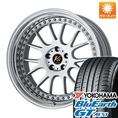 今がお得! 送料無料 225/40R19 19インチ サマータイヤ ホイール4本セット WORK ワーク VS VS-TX 8J 8.00-19 YOKOHAMA ブルーアース GT AE51