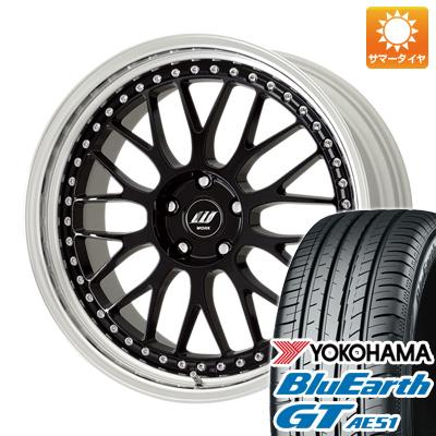 今がお得! 送料無料 225/40R19 19インチ サマータイヤ ホイール4本セット WORK ワーク ジスタンス W10M 7.5J 7.50-19 YOKOHAMA ブルーアース GT AE51