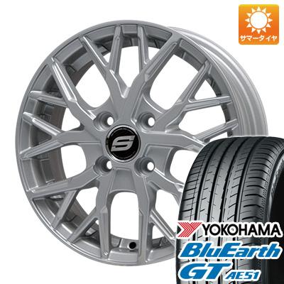 今がお得! 送料無料 185/55R16 16インチ サマータイヤ ホイール4本セット BRANDLE ブランドル TM20 6.5J 6.50-16 YOKOHAMA ブルーアース GT AE51
