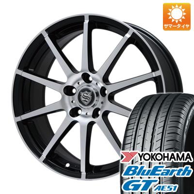 今がお得! 送料無料 215/65R16 16インチ サマータイヤ ホイール4本セット BRANDLE ブランドル 562B 6.5J 6.50-16 YOKOHAMA ブルーアース GT AE51