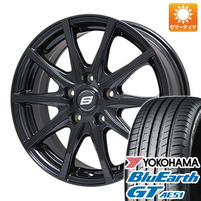 【送料無料】 205/55R17 17インチ BRANDLE ブランドル M71B 7J 7.00-17 YOKOHAMA ヨコハマ ブルーアース GT AE51 サマータイヤ ホイール4本セット