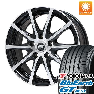 今がお得! 送料無料 195/50R16 16インチ サマータイヤ ホイール4本セット BRANDLE ブランドル M71BP 6.5J 6.50-16 YOKOHAMA ブルーアース GT AE51