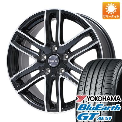 【送料無料】 215/50R17 17インチ BRANDLE ブランドル G61B 7J 7.00-17 YOKOHAMA ヨコハマ ブルーアース GT AE51 サマータイヤ ホイール4本セット