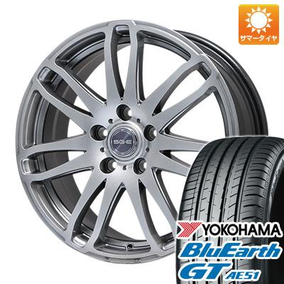 【送料無料】 215/50R17 17インチ BRANDLE ブランドル G72 7J 7.00-17 YOKOHAMA ヨコハマ ブルーアース GT AE51 サマータイヤ ホイール4本セット
