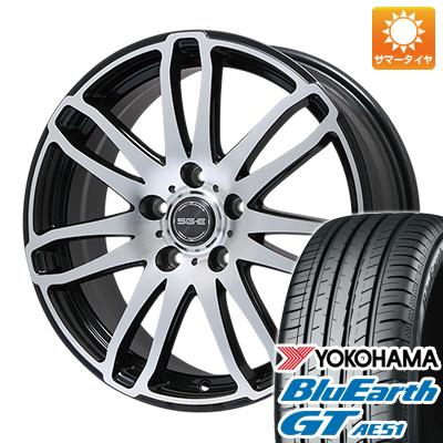 今がお得! 送料無料 195/50R16 16インチ サマータイヤ ホイール4本セット BRANDLE ブランドル G72B 6.5J 6.50-16 YOKOHAMA ブルーアース GT AE51