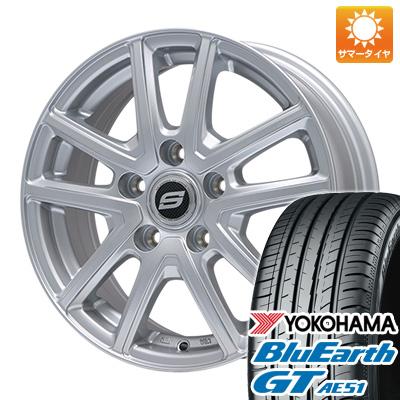 【送料無料】 205/55R17 17インチ BRANDLE ブランドル M61 7J 7.00-17 YOKOHAMA ヨコハマ ブルーアース GT AE51 サマータイヤ ホイール4本セット