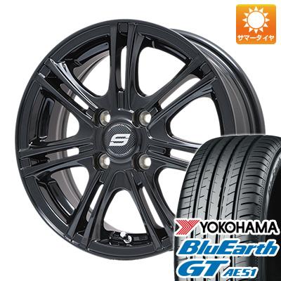 今がお得! 送料無料 185/65R15 15インチ サマータイヤ ホイール4本セット BRANDLE ブランドル M68B 5.5J 5.50-15 YOKOHAMA ブルーアース GT AE51
