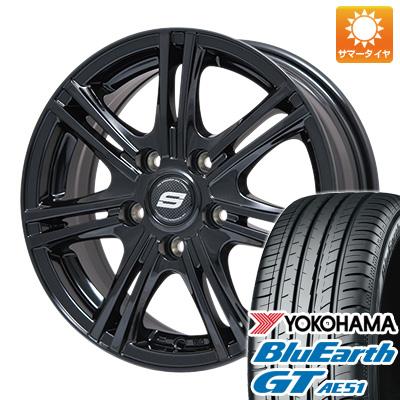 今がお得! 送料無料 235/50R18 18インチ サマータイヤ ホイール4本セット BRANDLE ブランドル M68B 7.5J 7.50-18 YOKOHAMA ブルーアース GT AE51
