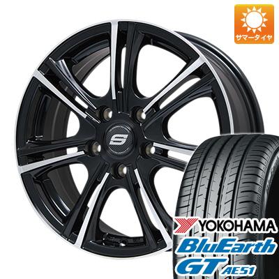 今がお得! 送料無料 235/45R18 18インチ サマータイヤ ホイール4本セット BRANDLE ブランドル M68BP 7.5J 7.50-18 YOKOHAMA ブルーアース GT AE51