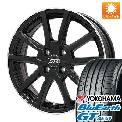 【送料無料】 175/65R15 15インチ BRANDLE ブランドル N52B 5.5J 5.50-15 YOKOHAMA ヨコハマ ブルーアース GT AE51 サマータイヤ ホイール4本セット