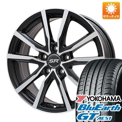 【送料無料】 225/50R18 18インチ BRANDLE ブランドル N52BP 7.5J 7.50-18 YOKOHAMA ヨコハマ ブルーアース GT AE51 サマータイヤ ホイール4本セット