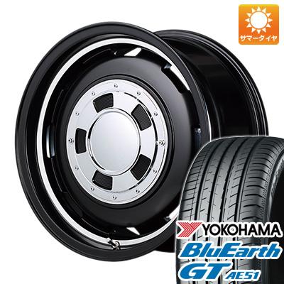 【送料無料】 155/65R14 14インチ MID ガルシア シスコ 4.5J 4.50-14 YOKOHAMA ヨコハマ ブルーアース GT AE51 サマータイヤ ホイール4本セット