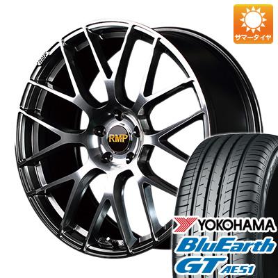 【送料無料】 215/45R18 18インチ MID RMP 028F 7J 7.00-18 YOKOHAMA ヨコハマ ブルーアース GT AE51 サマータイヤ ホイール4本セット