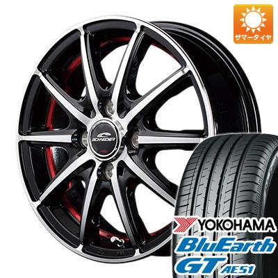 【送料無料】 175/65R15 15インチ MID シュナイダー SX2 5.5J 5.50-15 YOKOHAMA ヨコハマ ブルーアース GT AE51 サマータイヤ ホイール4本セット