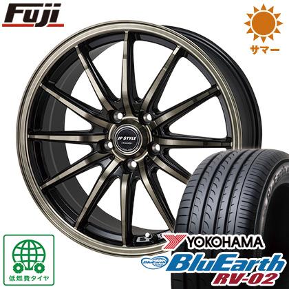 今がお得! 送料無料 215/65R16 16インチ サマータイヤ ホイール4本セット MONZA モンツァ JPスタイルバークレー 6.5J 6.50-16 YOKOHAMA ブルーアース RV-02