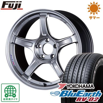 今がお得! 送料無料 225/60R17 17インチ サマータイヤ ホイール4本セット SSR GTX03 7J 7.00-17 YOKOHAMA ブルーアース RV-02