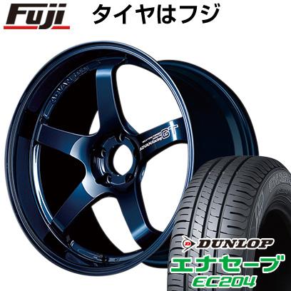 今がお得! 送料無料 225/50R18 18インチ サマータイヤ ホイール4本セット YOKOHAMA アドバンレーシング GT プレミアムバージョン 8J 8.00-18 DUNLOP エナセーブ EC204