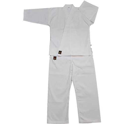 空手着セット 10号帆布(空手形用特上品)空手着セット2号(大) 上下(空手衣・ズボン)・白帯 3点セット (空手) KA-14 空手