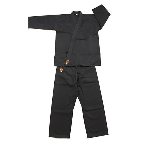 空手着セット 黒帆布(厚手)空手着セット(4号) 上下(空手衣・ズボン)セット 帯なし (空手) KA-21 空手