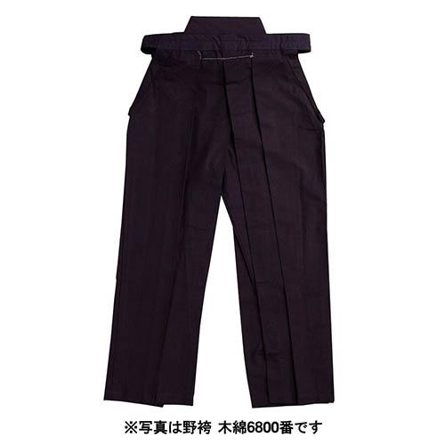 剣道袴 テトロン野袴 紺・白・黒(受注生産・納期約三週間前後) (剣道具) K-223