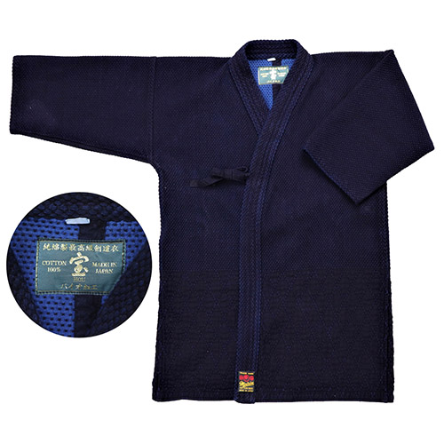 剣道衣 バイオ 二重刺 剣道衣『宝』 背継 サイズ:2号、2L号、3号 (剣道具) 剣道