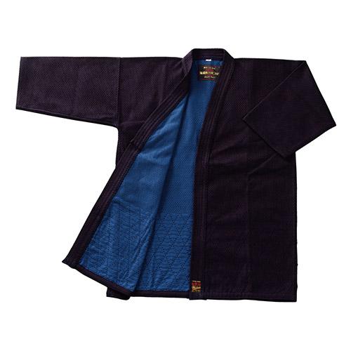 剣道衣 正藍染 紺二重織刺(上)剣道衣 5号 (剣道具) K-55 剣道