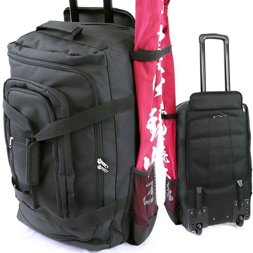 \ポイント+5倍!!/【4/9~4/16 ※一部商品のぞく】日本拳法バッグ キャリーザック 高級剣道防具袋 (日本拳法) 日本拳法