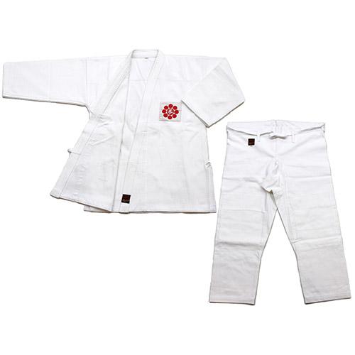 日本拳法衣 日本拳法衣 4号(日本拳法会マーク入) 上下 (日本拳法) K-4 日本拳法