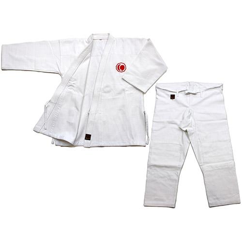 \ポイント+5倍!!/【4/9~4/16 ※一部商品のぞく】日本拳法衣 日本拳法衣 2号(連盟マーク入) 上下 (日本拳法) K-2 日本拳法