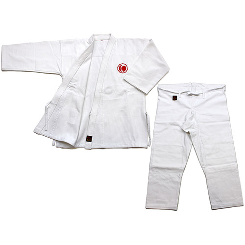 日本拳法衣 日本拳法衣 6号(連盟マーク入) 上下 (日本拳法) K-6 日本拳法