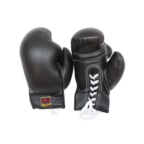 \ポイント+5倍!!/【4/9~4/16 ※一部商品のぞく】日本拳法グローブ 日本拳法グローブ(黒) 8オンス 紐式 (日本拳法) N-18 日本拳法