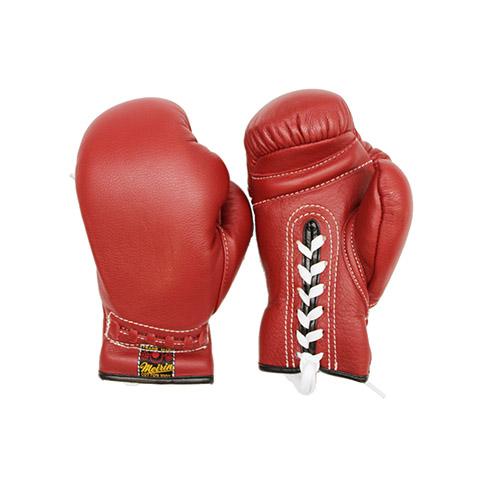 \ポイント+5倍!!/【4/9~4/16 ※一部商品のぞく】日本拳法グローブ 日本拳法グローブ(赤) 8オンス 紐式 (日本拳法) N-19 日本拳法