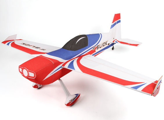 Slick 55 EPP/Light Plywood 3D Aerobatic Airplane 1430mm (ARF)