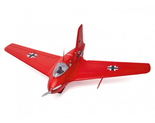 Durafly Me-163 Komet 950mm High Performance Rocket Fighter (PNF) (Red Edition)