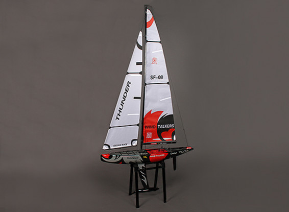 早い者勝ち Fiberglass RC (ARR) Yacht Thunder RC Sailboat Thunder 1000mm (ARR), 生活雑貨のストックスクエア:53a679cd --- canoncity.azurewebsites.net