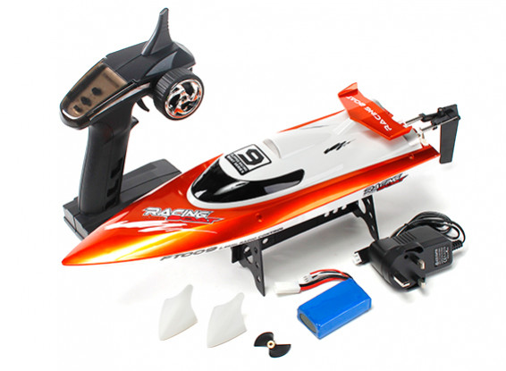FT009 High Speed V-Hull Racing Boat 460mm - Orange (RTR)