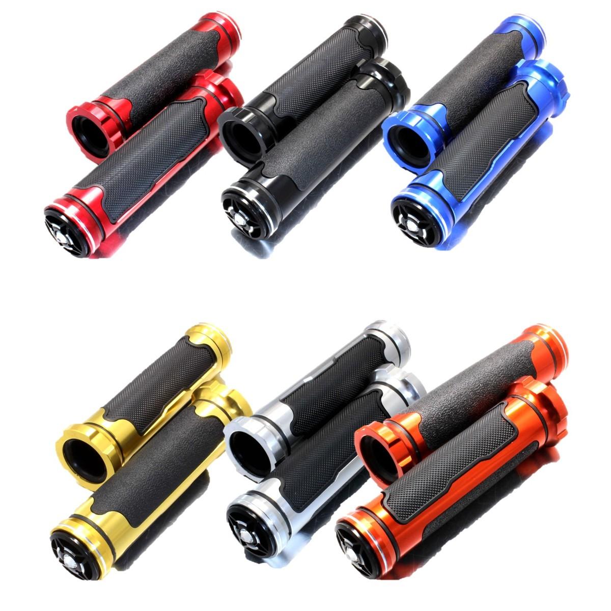 秀逸 適応車種 グロム PCX CB400SF CB1300SF NMAX シグナスX ジョグ スーパーディオ 汎用 ジャイロ など バイクグリップ 22mm用 ライブディオ バイクハンドル用 流行のアイテム バーエンドは取り外す必要があります nakira