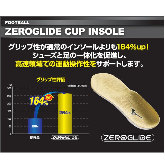 美津浓(Mizuno)零滑动鞋垫(足球用)(p1gz140145)鞋垫鞋垫配饰